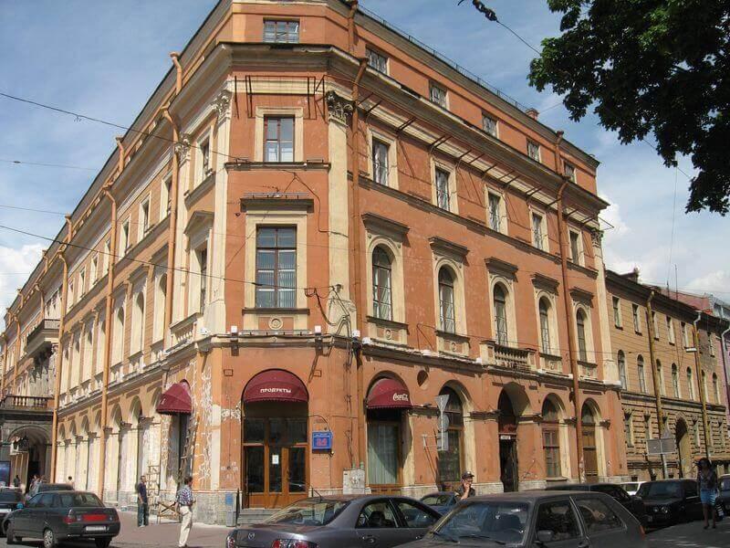 Здание, в котором сотрудники Спецстройсервис выполняли строительную экспертизу