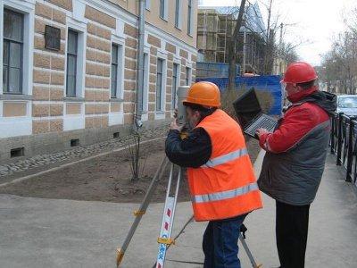Геодезический мониторинг здания