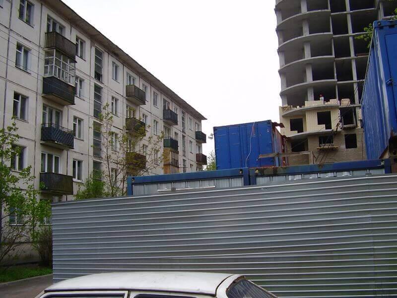 Мониторинг при ведении строительства вблизи существующих зданий