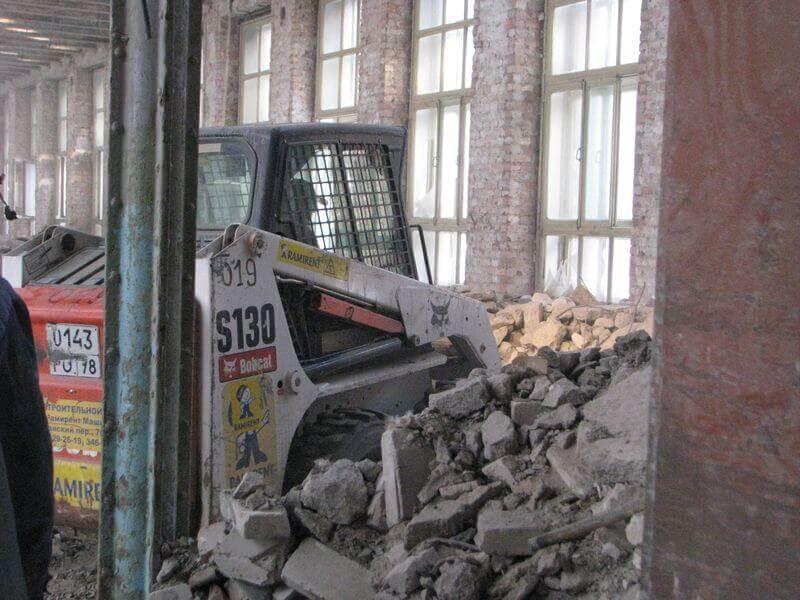 Мониторинг при строительных работах