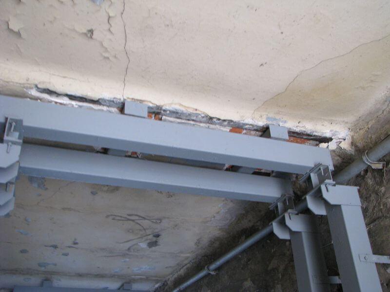 Усиление перекрытий зданий