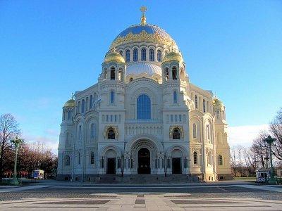 Никольский Морской собор г. Кронштадт