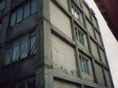 Усиление торцевой стены 5-ти этажного жилого дома