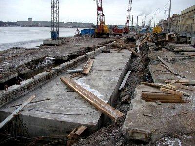 Мониторинг технического состояния зданий, Малоохтинский пр